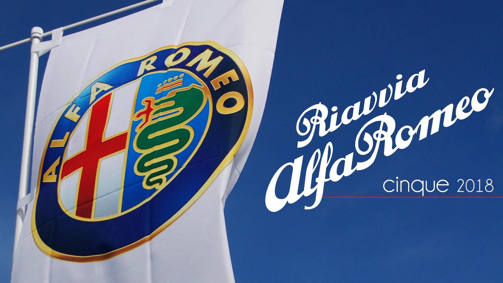 2018 Riavvia Alfa Romeo cinque