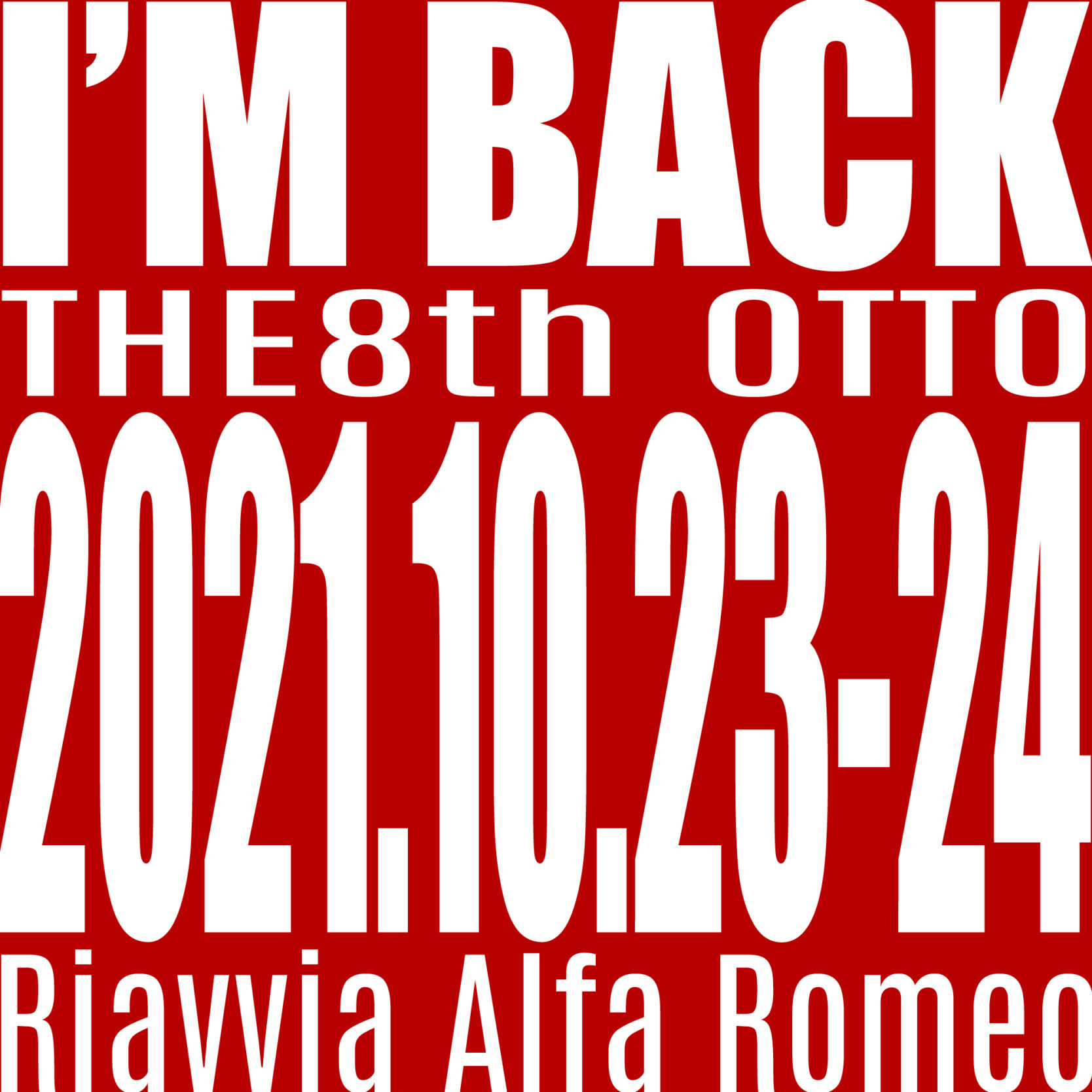 ©︎2021 Riavvia Alfa Romeo